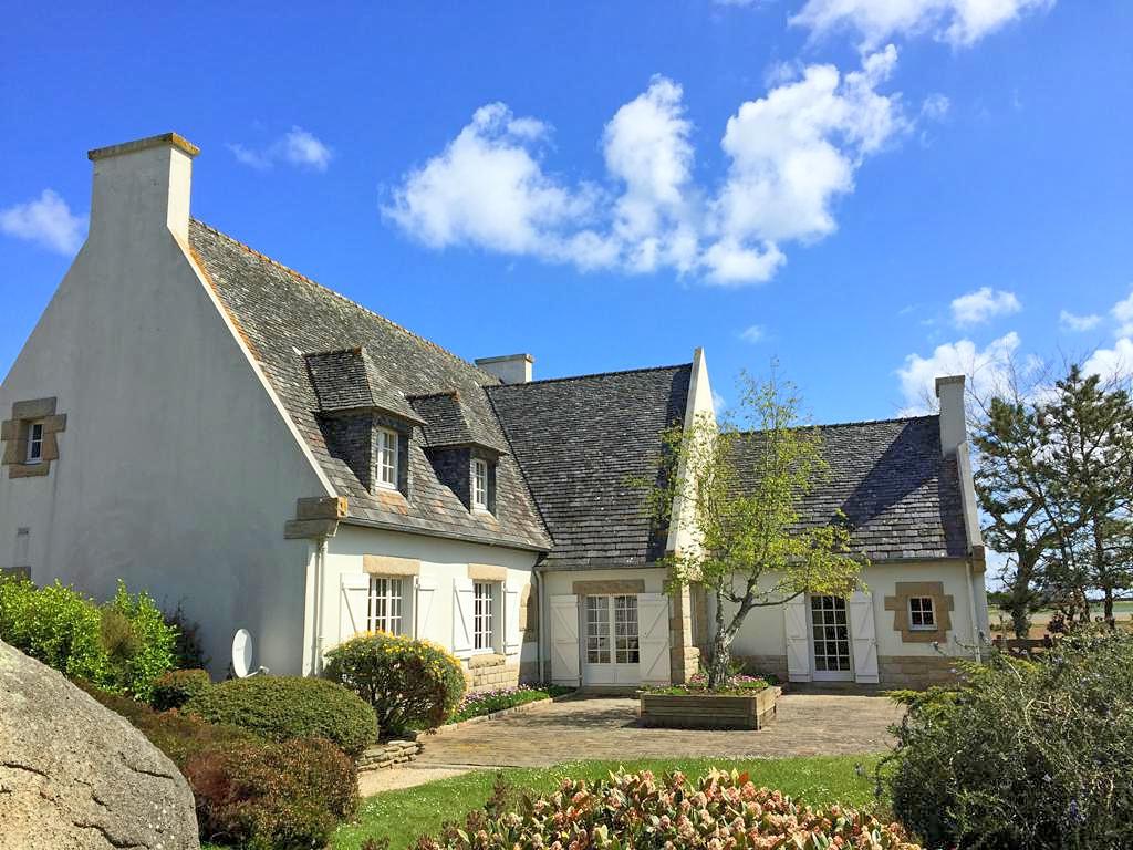 Vakantiehuis in Plouneour-Brignogan-Plages aan zee, in Bretagne.