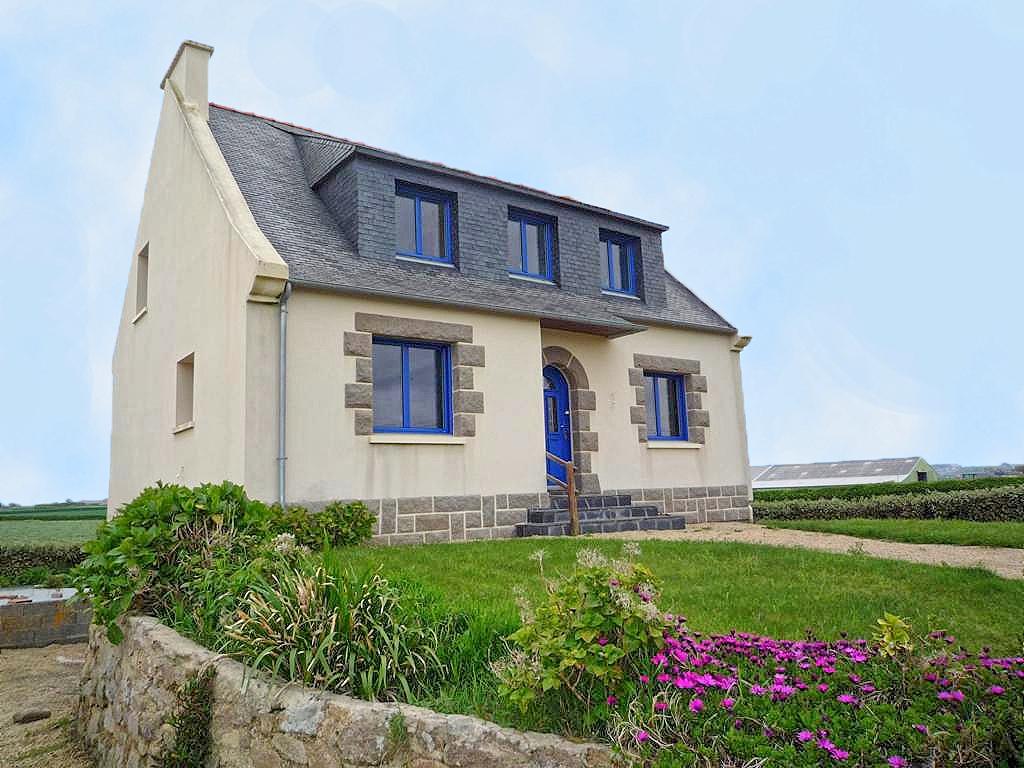 Vakantiehuis in Cleder aan zee, in Bretagne.