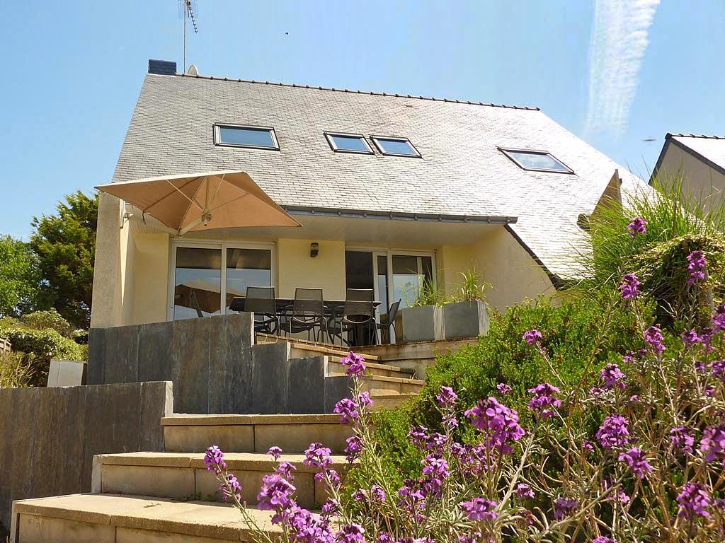 Vakantiehuis in Moelan-sur-Mer met zwembad, in Bretagne.