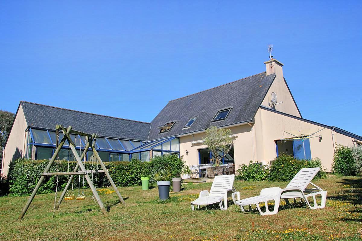 Vakantiehuis in Moëlan-sur-Mer met zwembad, in Bretagne.