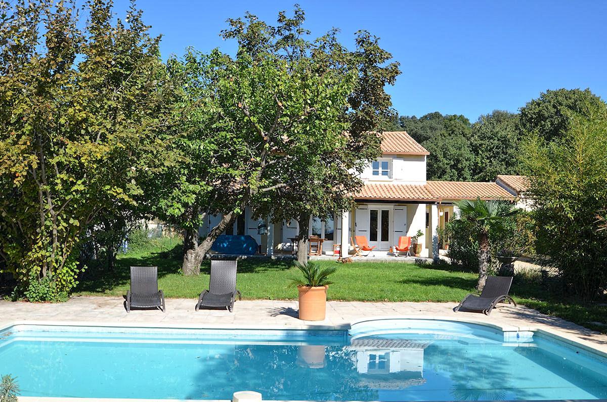 Vakantiehuis in Cabrières met zwembad, in Languedoc Roussillon.