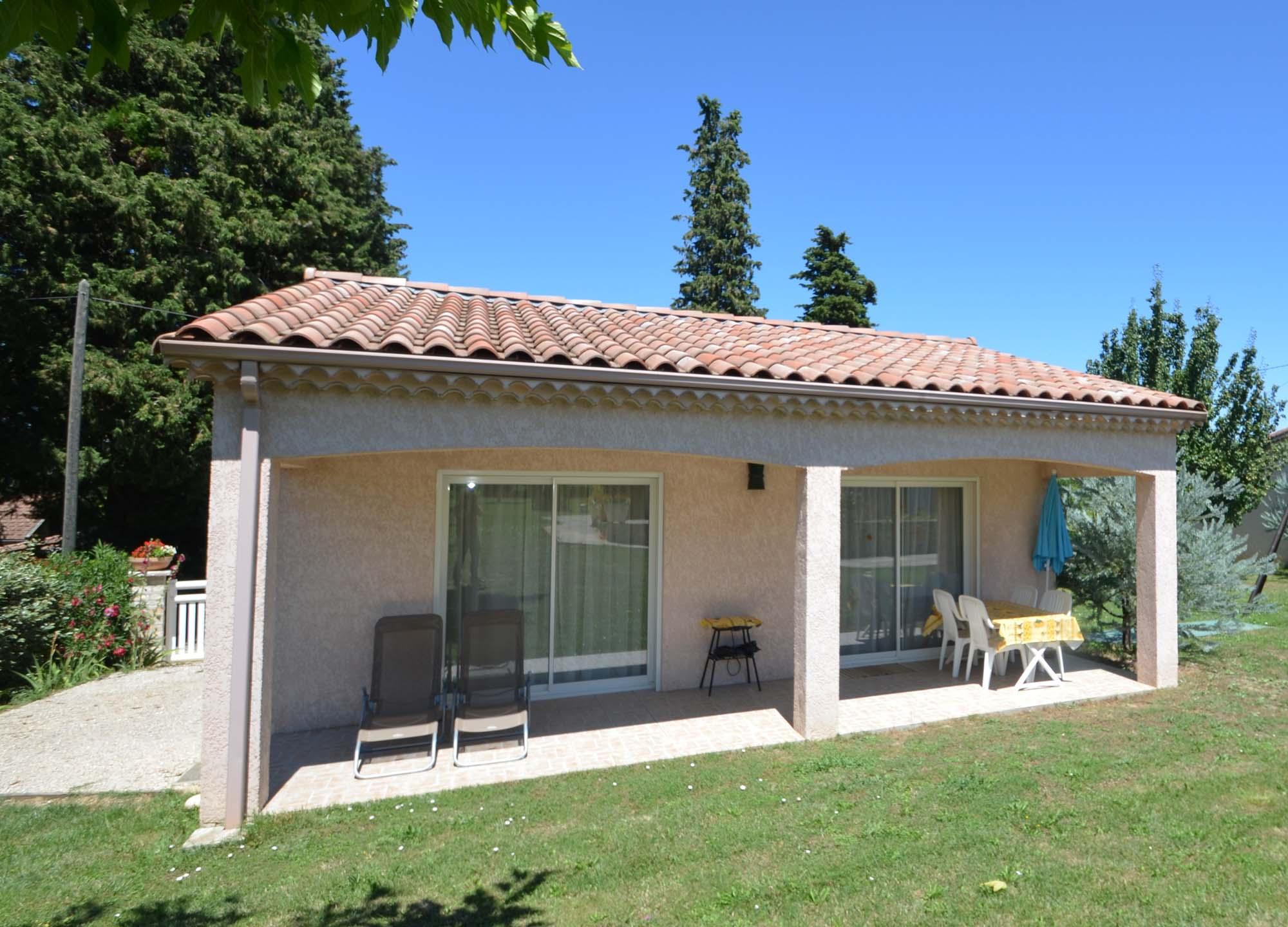 Vakantiehuis met zwembad in Languedoc-Roussillon in Saint-Ambroix (Frankrijk)