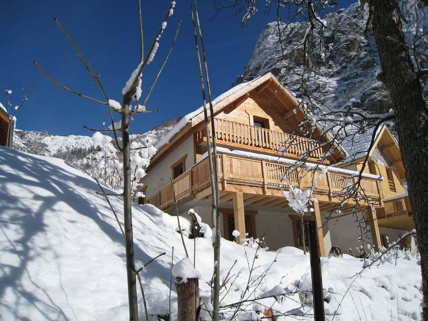 Vakantiehuis in Venosc, in Alpen.