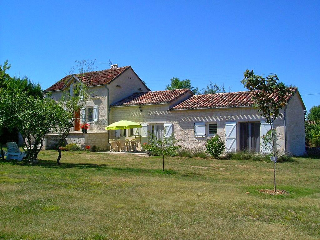 Vakantiehuis in Lalbenque, in Dordogne-Limousin.