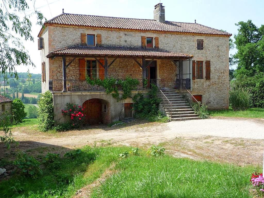 Vakantiehuis in Lherm met zwembad, in Dordogne-Limousin.