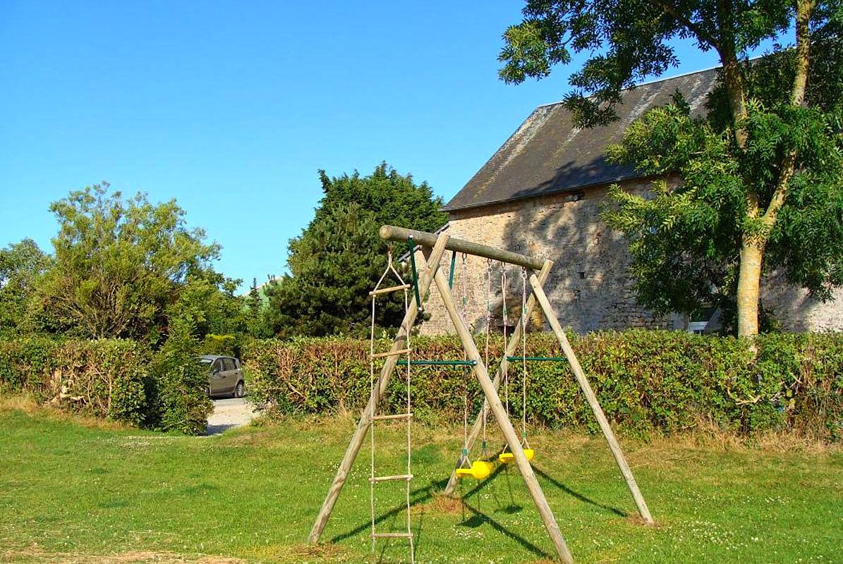 Vakantiehuis in Orglandes, in Normandie.
