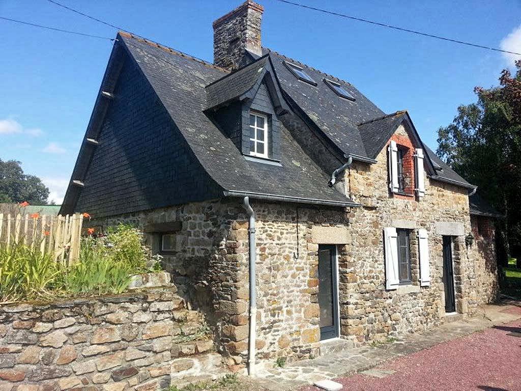 Vakantiehuis in Dragey-Ronthon aan zee, in Normandie.