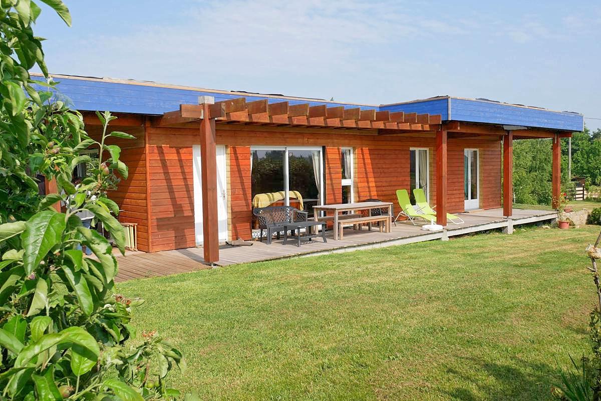 Vakantiehuis in Montfarville aan zee, in Normandie.