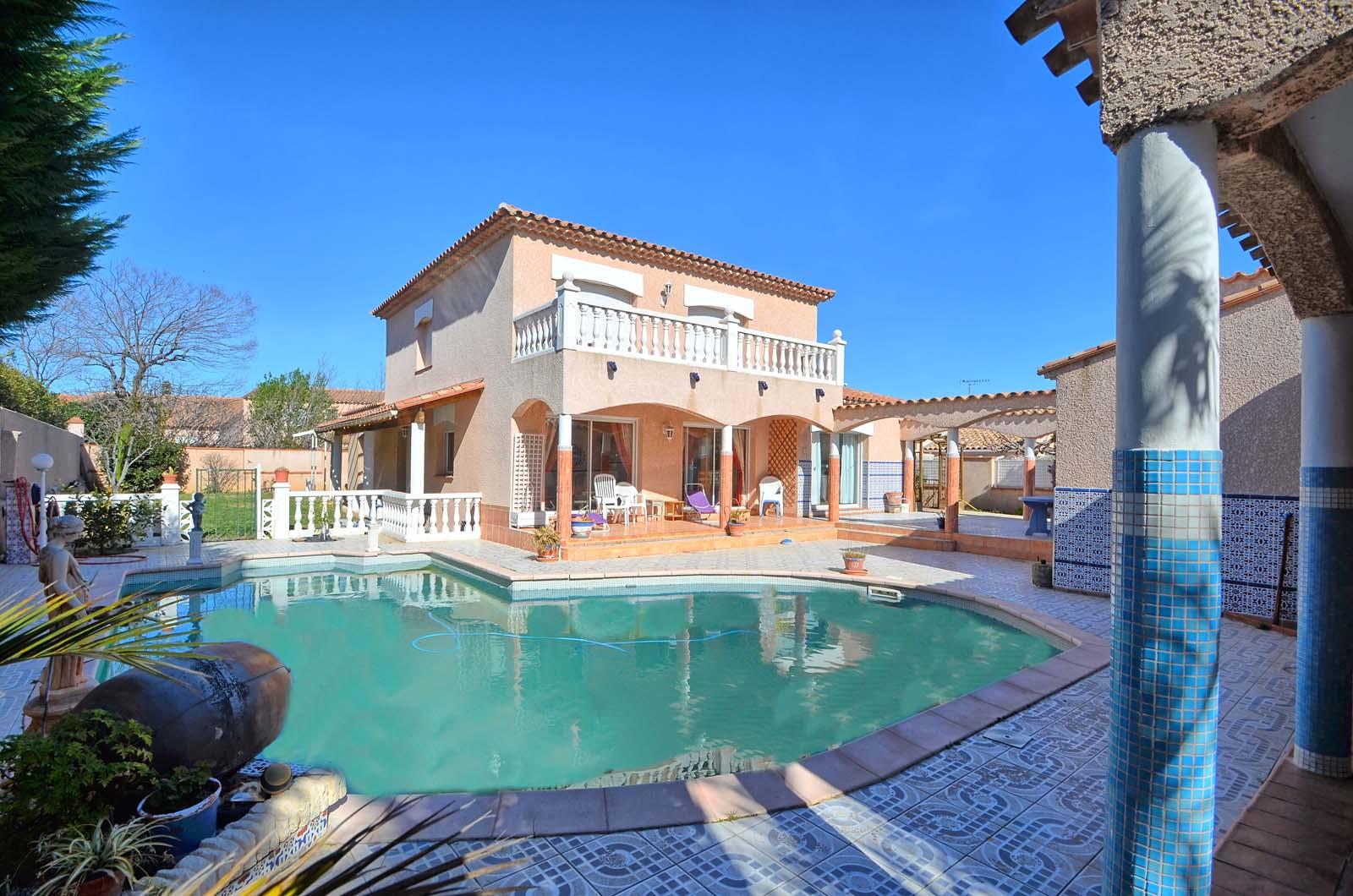 Vakantiehuis met zwembad in Languedoc-Roussillon in Perpignan (Frankrijk)