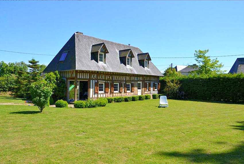 Vakantiehuis in Tocqueville-en-Caux, in Normandie.