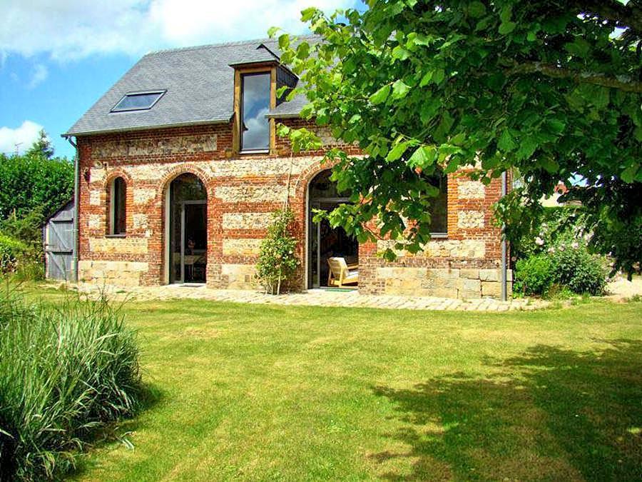 Vakantiehuis in Riville, in Normandie.