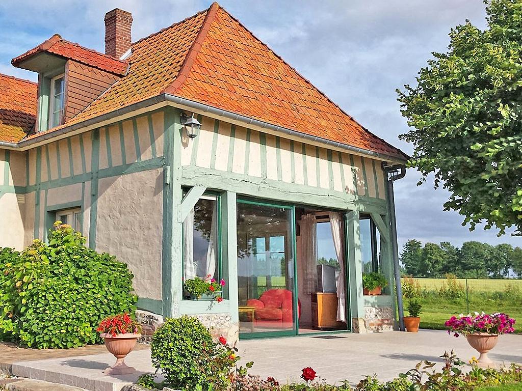 Vakantiehuis in Saint-Maclou-de-Folleville, in Normandie.