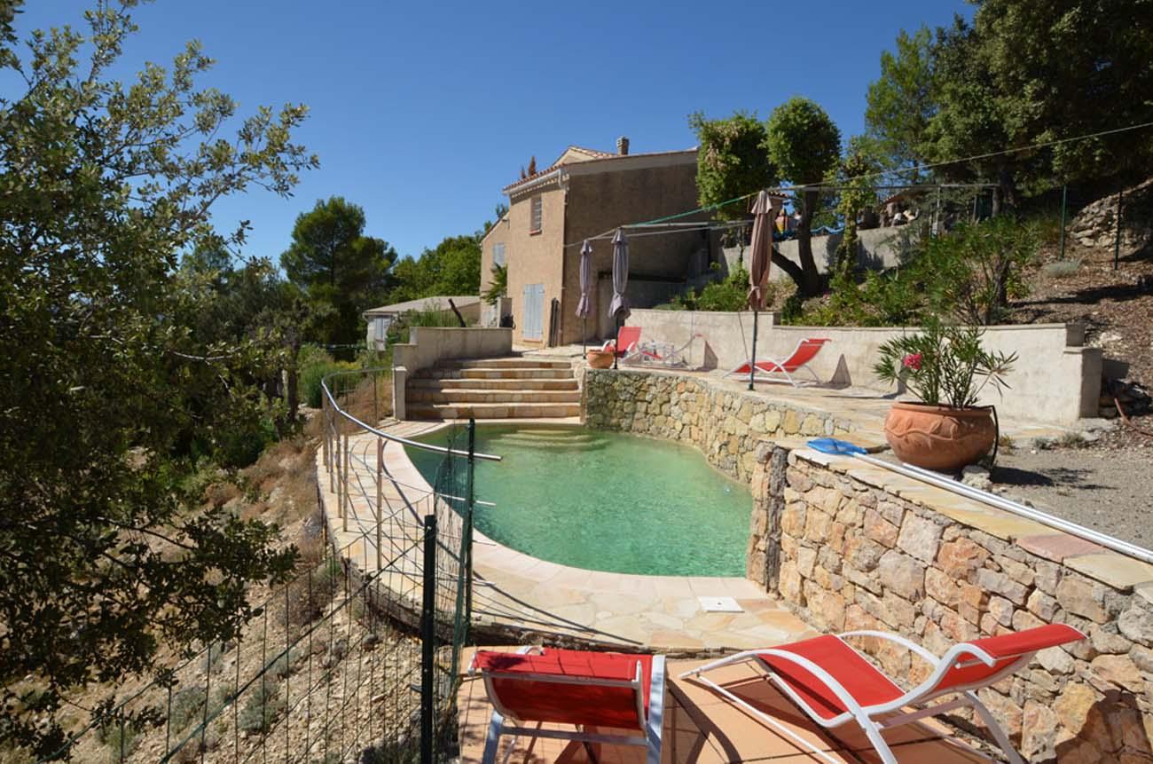 Vakantiehuis in Pontevès met zwembad, in Provence-Côte d'Azur.