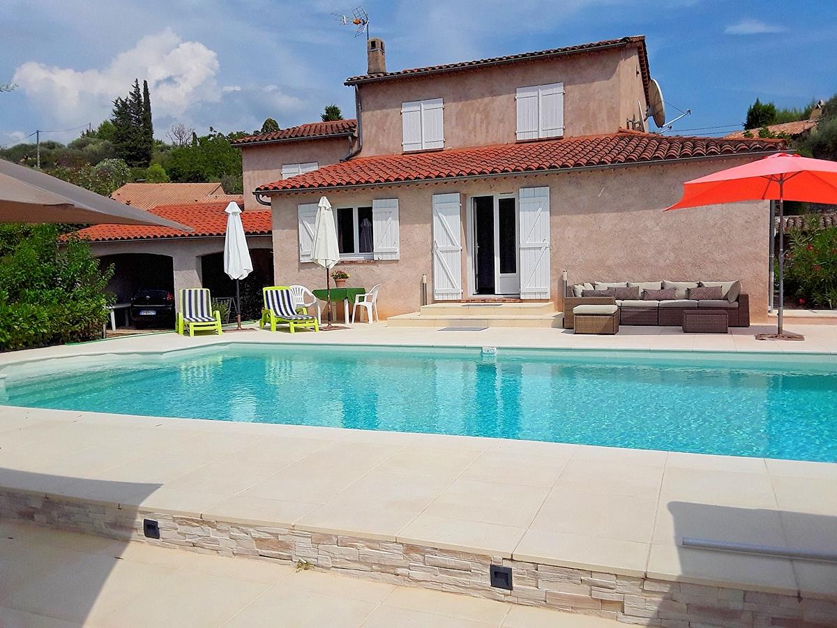 Vakantiehuis in Fayence met zwembad, in Provence-Cote d'Azur.