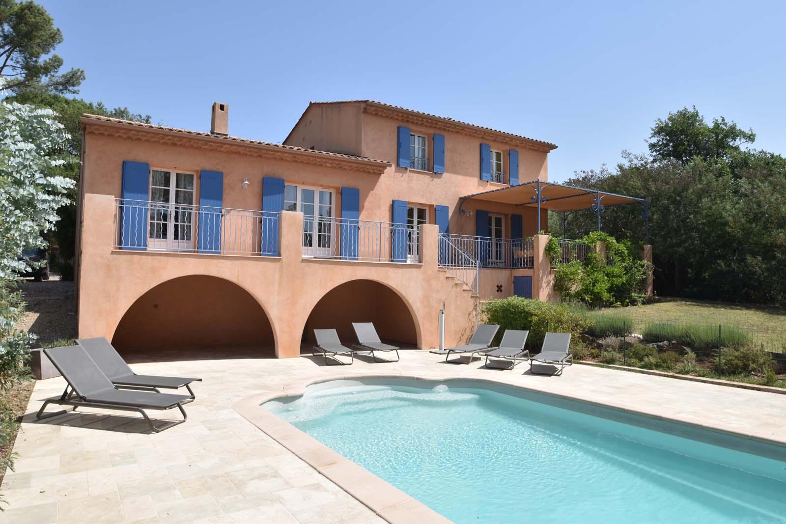 Vakantiehuis in Vidauban met zwembad, in Provence-Cote d'Azur.
