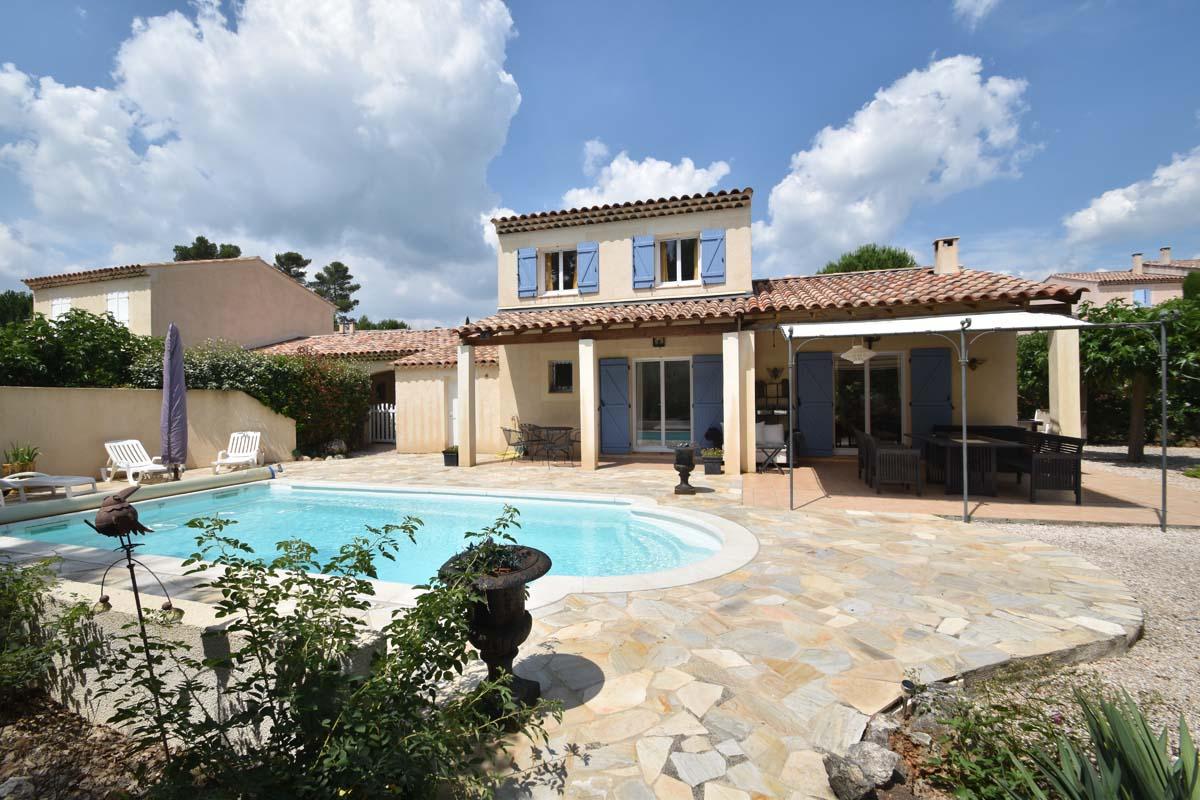 Vakantiehuis in Nans-les-Pins met zwembad, in Provence-Cote d'Azur.