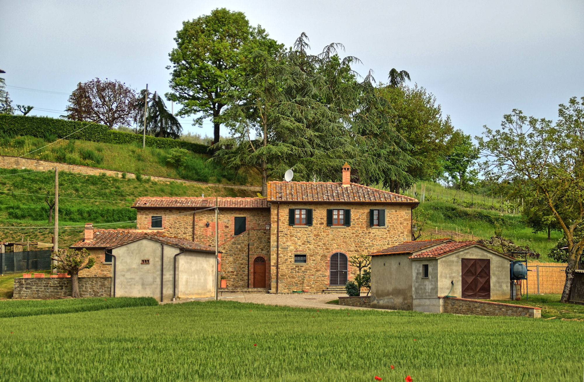 Vakantiehuis in Monte San Savino, in Toscane.
