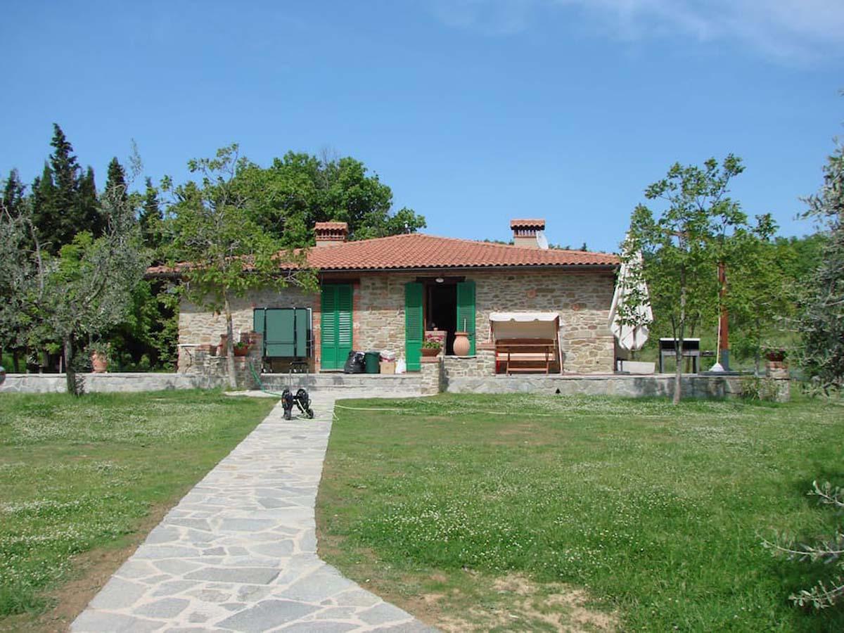 Vakantiehuis in Civitella in Val di Chiana met zwembad, in Toscane.