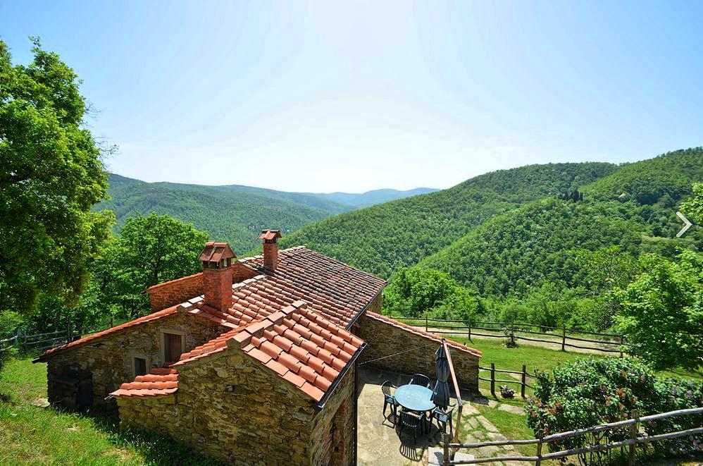 Vakantiehuis in Antria met zwembad, in Toscane.