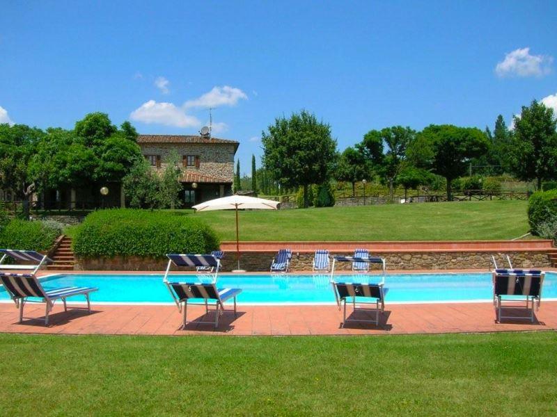 Vakantiehuis in Subbiano met zwembad, in Toscane.