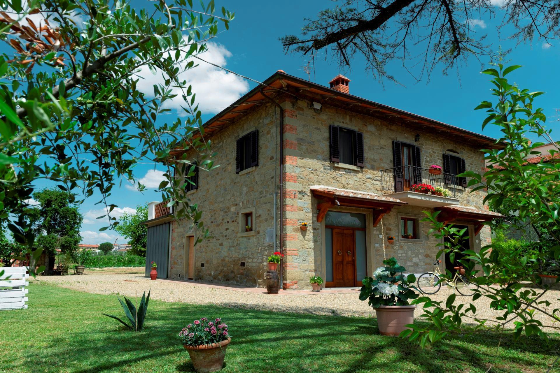 Vakantiehuis in Castiglion Fiorentino met zwembad, in Toscane.
