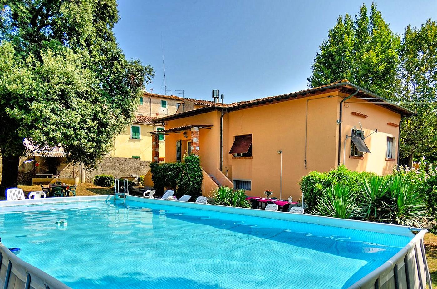 Vakantiehuis in Cascine di Buti met zwembad, in Toscane.
