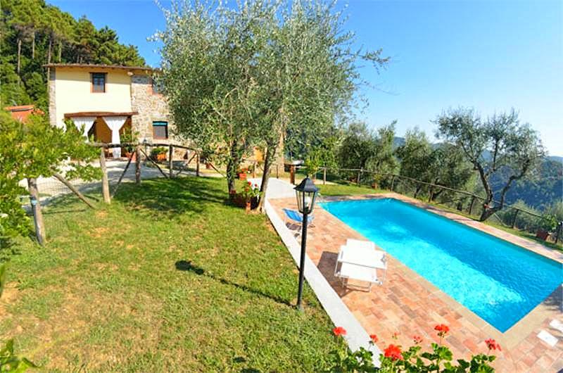 Vakantiehuis in Torcigliano met zwembad, in Toscane.