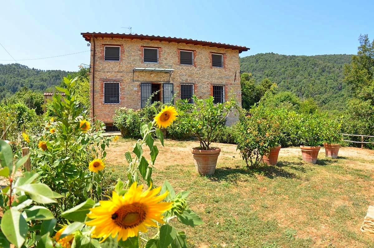 Vakantiehuis in Lucca met zwembad, in Toscane.