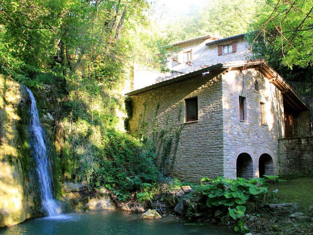 Vakantiehuis in Assisi, in Umbrië.