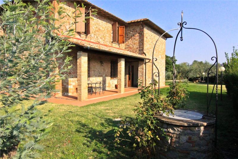 Vakantiehuis in Citta della Pieve met zwembad, in Umbrie.