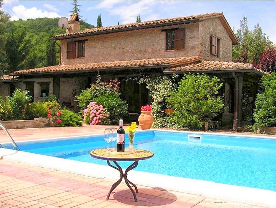 Vakantiehuis in Gaglietole met zwembad, in Umbrië.