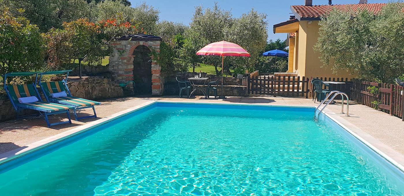 Vakantiehuis in Sant'Arcangelo met zwembad, in Umbrie.