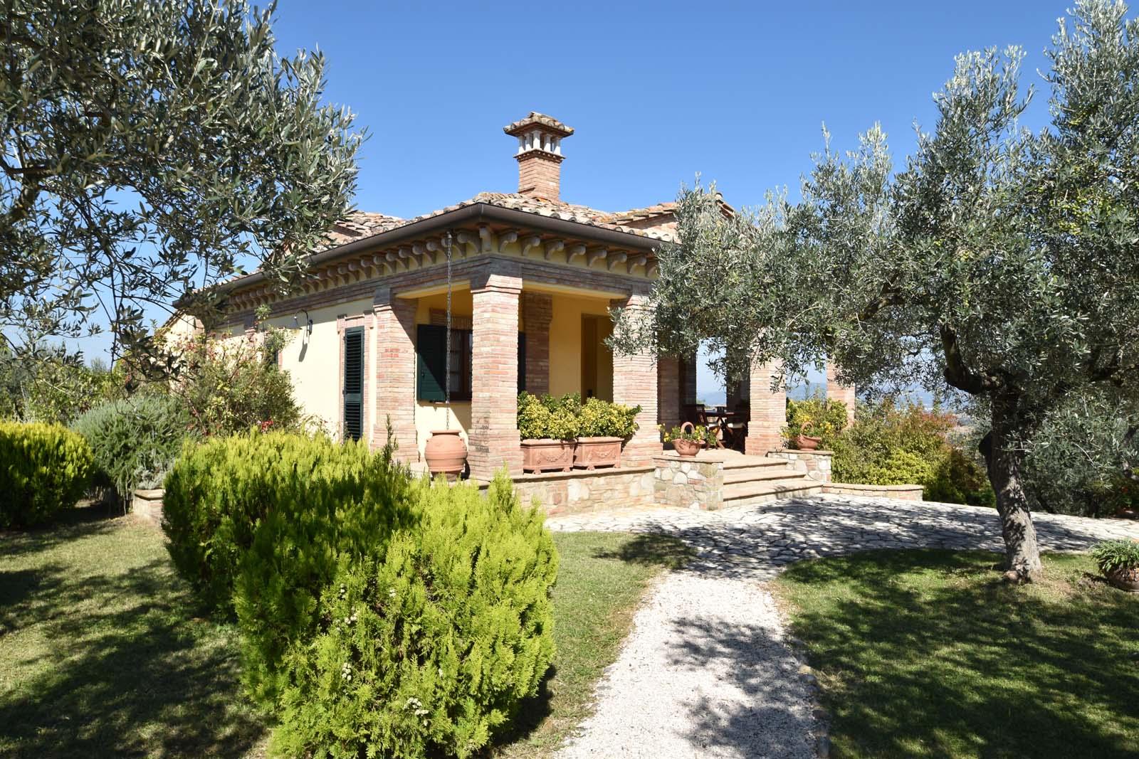Vakantiehuis in Torgiano met zwembad, in Umbrie.
