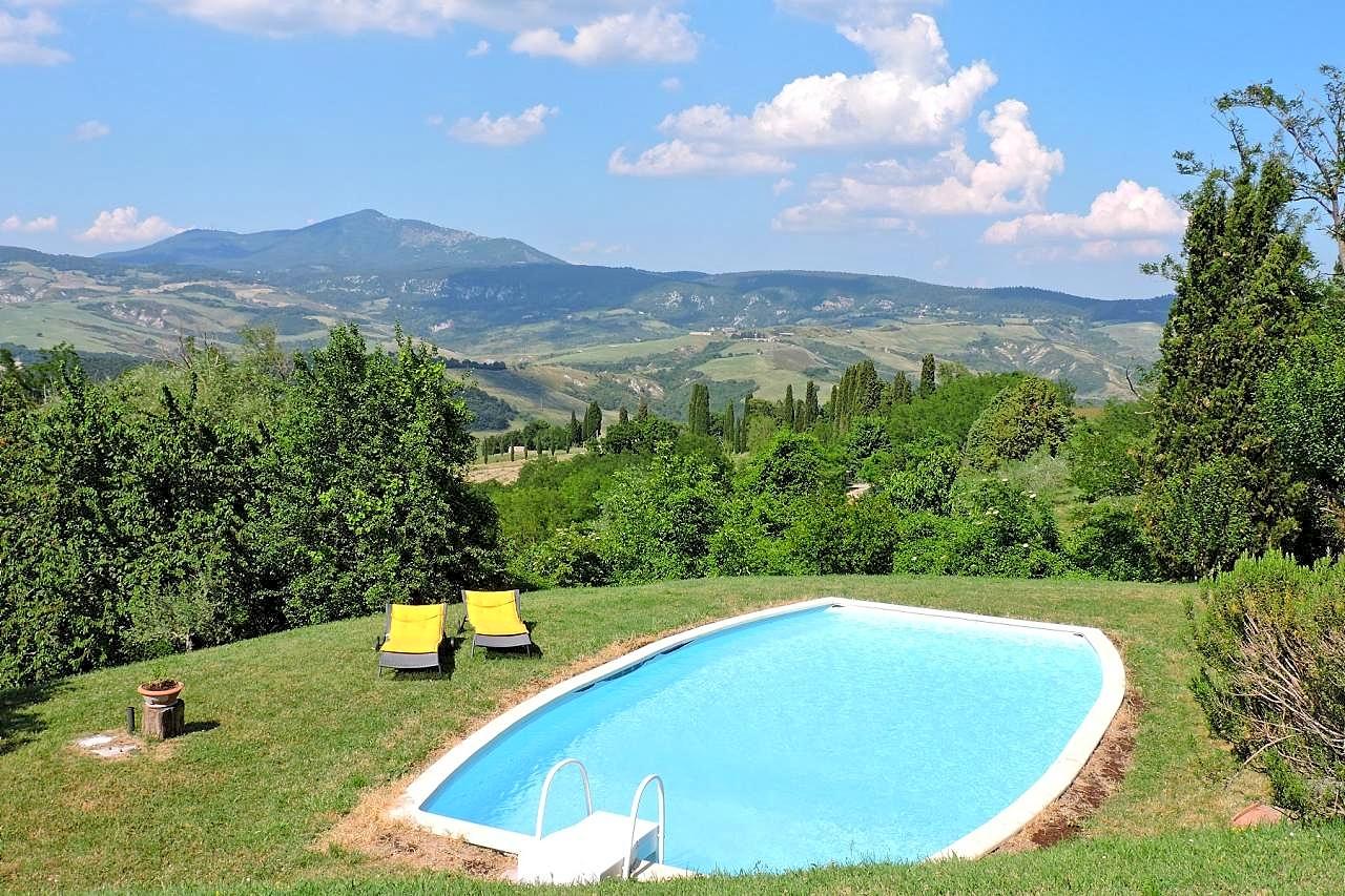 Vakantiehuis in Celle sul Rigo met zwembad, in Toscane.