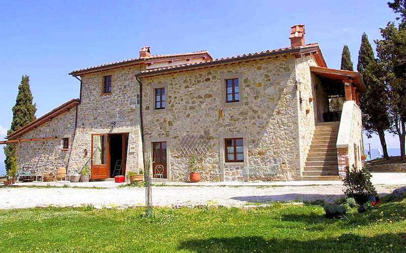 Vakantiehuis in Castiglione d'Orcia met zwembad, in Toscane.
