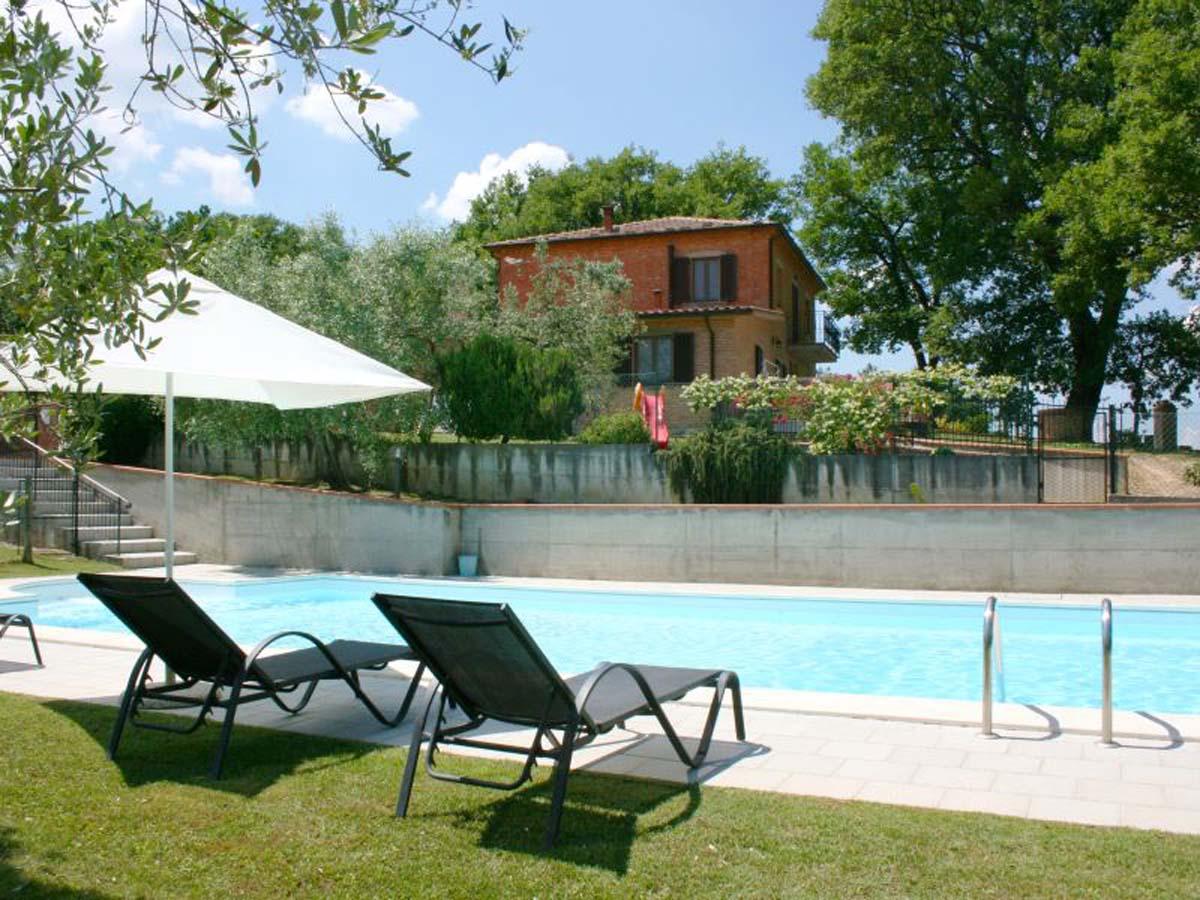 Vakantiehuis in Montepulciano met zwembad, in Toscane.