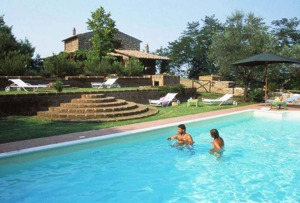 Vakantiehuis in Vitorchiano met zwembad, in Lazio.